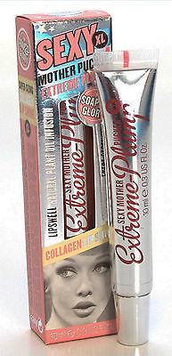 Soap and Glory~Sexy Mother Pucker XL Extreme Plump Lip gloss CLEAR-NEW