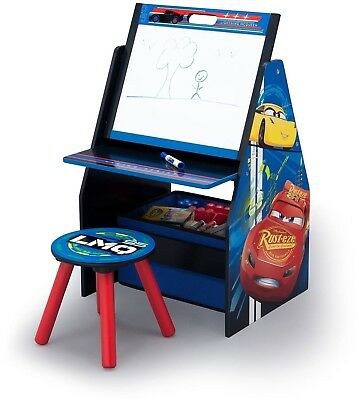 Disney Cars Activity Center - Easel Desk With Stool and Toy Organizer - Multi  sc 1 st  PicClick & DISNEY AND Nickelodeon Character Kids and Toddlers Bed Tent - Twin ...
