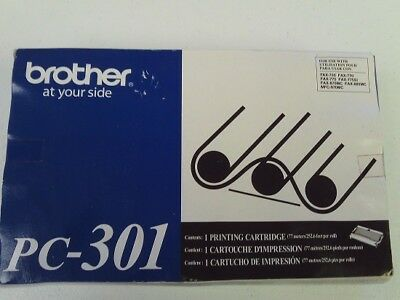 Genuine Brother PC-301, Print Cartridge, UPC 012502054511 Free Shipping e8