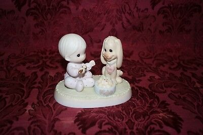Precious Moments 1997 # 531944 Sharing Our Christmas Together Figurine No Box #7
