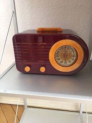 FADA Bullet Radio Streamline Art Deco Perfect