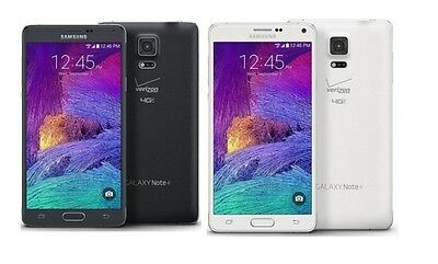 Samsung Galaxy Note 4 IV N910V r Verizon AT&T T-Mobile GSM UNLOCKED Cell Phone