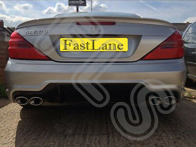Mercedes Custom Built Stainless Steel Exhaust Cat Back Dual System 2012MSL5-7825