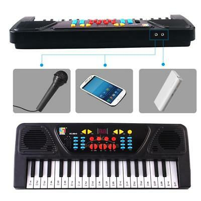 37 Keys Electronic Organ Piano Keyboard with Microphone Musical Toys for Kids