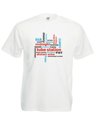 The Jam T Shirt Down In The Tubestation At Midnight  Bruce Foxton Paul Weller