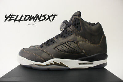 6718510c82cbdb Air Jordan 5 Retro V Metallic Camo Heiress Gs Sz 7 Y Bronze 919710 030