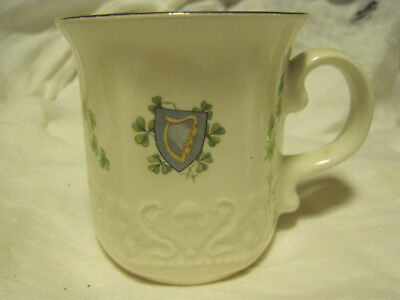 Carrigcraft Carrigaline County Cork Ireland 24k Gold Rimmed Tea/Coffee Cup Mug