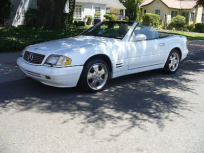 1999 Mercedes-Benz SL-Class White Beautiful California Rust Free Mercedes Benz SL500 Excellent Condition  MUST SEE
