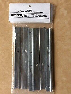 Kennedy Tool Chest  #80887 Drawer Slide Set Style 520 New Old Stock USA