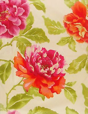 Spring Bloom Floral Vinyl Flannel Back Tablecloths (Various Sizes)