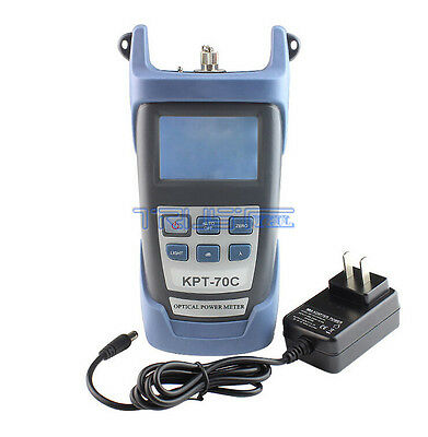 New FTTH Fiber Optic Optical Power Meter CableTester -70~+10dBm FC/SC Connector