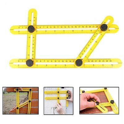 Max Form Easy Angle Amenitee Multi-Angle Measuring Ruler Great Template Tools