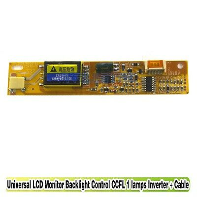 Universal LCD CCFL Inverter Board 1 Lamp Backlight Driver 12V DC-AC Small Port