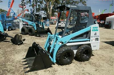 Bobcat – Toyota Husky 4SDK4 Mini Skid Steer $230 a day delivery available
