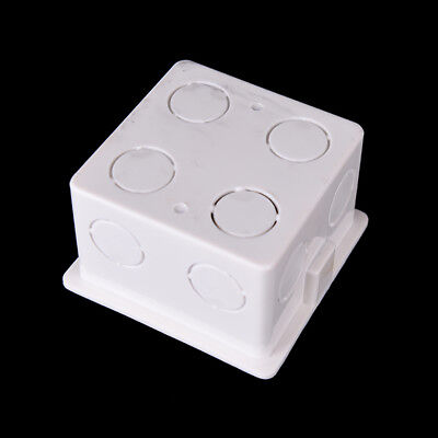 Wall Mounting Box for Wall Switch & Plastic Enclosure Socket Back Box outlet LE