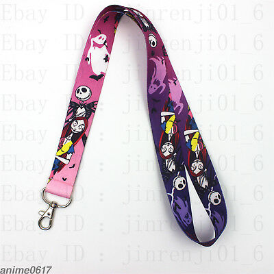 The Nightmare Before Christmas Neck Strap Keys pendant Collectibles Ornaments