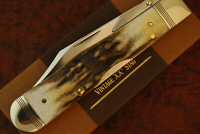 Case Xx Usa 2017 Beautiful Vintage Prime Stag Cheetah Knife 5111 1/2 L Ss (2214)