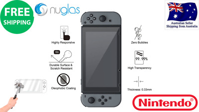 GENUINE Nuglas Nintendo Switch Tempered Glass Screen Protector Scratch-proof