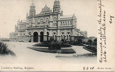 Australia Vintage Queensland Brisbane Exhibition Building 1905