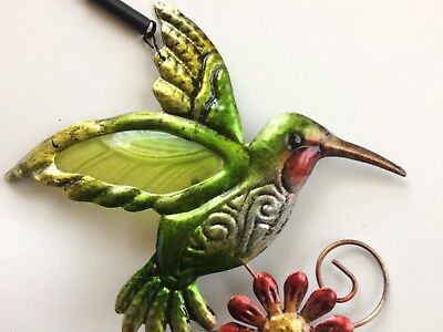 Stained Glass Bungee Hummingbird Decor~$7 & Free Shipping!
