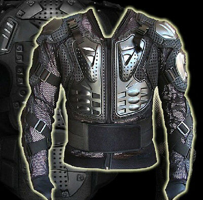 Motocross Motocycle Bike Body Armour Full Jacket Protector