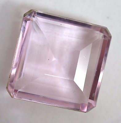 VVS 107.65 Ct Shiny Pink Morganite GGL Certified Emerald Cut AAA+ Gem Stone