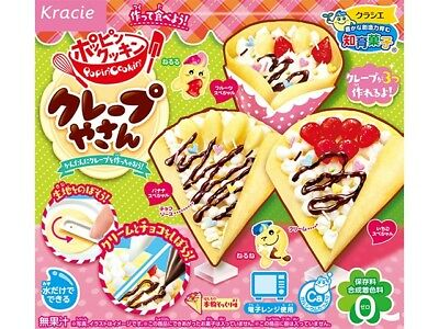 kracie popin cookin happy kitchen Japanese candy making kit Crepe shop