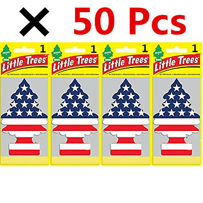 Wholesale Lot! 50 Pcs of Little Trees Hanging Car & Home Air Freshener