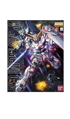 Bandai Gundam Master Grade Mg130 1/100 Rx0 Unicorn Gundam Model Kit - Japan