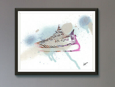 Yeezy / Adidas/ Trainer / Sneaker Wall Art Print / Poster  A3, A2, A1, A0