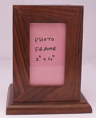 Cremation Ashes Urn Child Funeral Memorial Solid Wood photo frame small urn pet