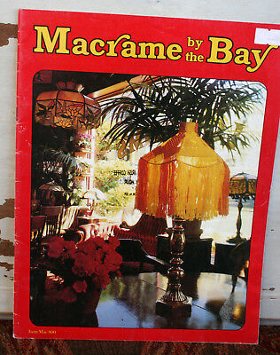Vintage 1970s Pattern Craft Book:  Macrame by the Bay - Patterns & Instructions