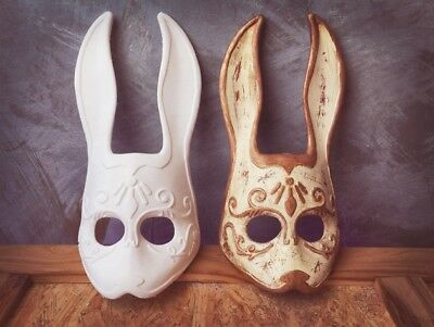 Splicer Bunny Mask from Bioshock unpainted (White (unpainted))