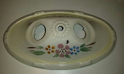 Vintage Victorian Porcelier Bathroom Bath Vanity Wall Sconce 2 Light Fixture