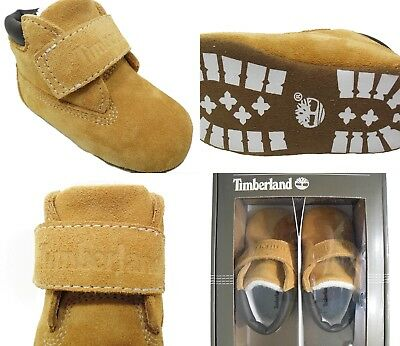 Timberland Crib Bootie New Infants Boots Wheat Baby Shoes Strap Sale Size 0-3.5