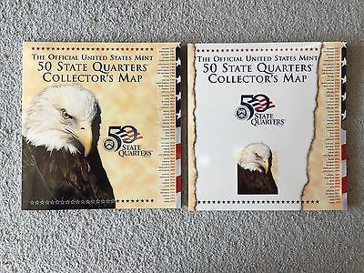 Official US Mint State Quarter Map For State Quarters CAD - Us state quarter map holder