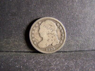 1833 Capped Bust Ten Cents (Very Rare Dime !!!!!!!!!!!!!!!!)