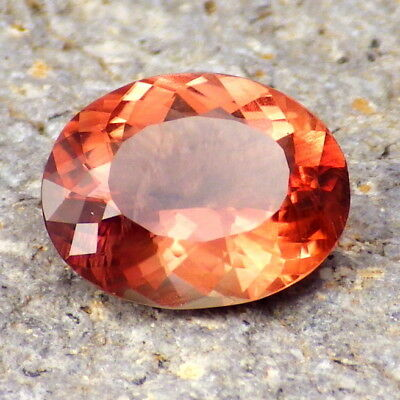 IMPERIAL SCHILLER OREGON SUNSTONE 3.32Ct CLARITY VS/SI-AMAZING NATURAL COLOR!