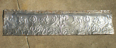SALE Antique Victorian Ceiling Tin Tile Flowers Leaves Cottage Chic Pinterest