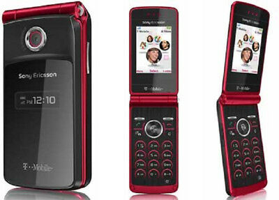 Sony Ericsson TM506 - Clam-shell Phone - Scarlet red (T-Mobile)