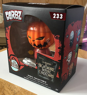 Pop Vinyl Dorbz Specialty Series The Nightmare Before Christmas Pumpkin King New