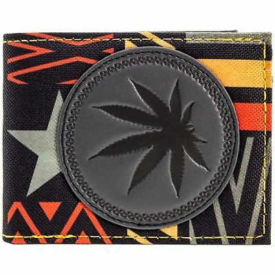 New Official Bob Marley Marijuana Leaf Wallet Bi-Fold *sealed*