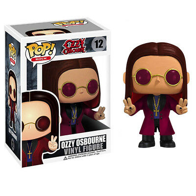 Black Sabbath Collectible: 2011 Funko Ozzy Osbourne POP! Rock Vinyl Figure (C7)