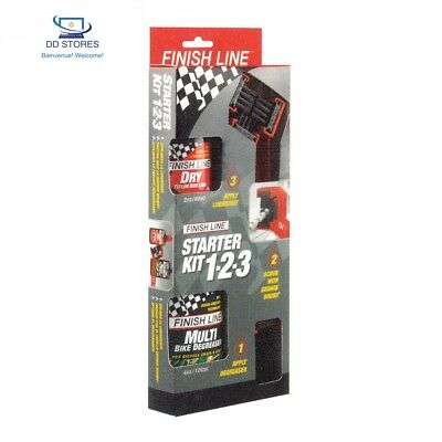 Finish Line Starter Kit 1-2-3 Kit Outillage