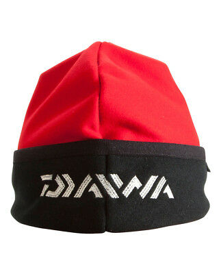 Daiwa Gore Windstopper Beanie Hat Red -FREE UK POSTAGE-