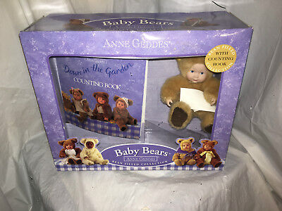 baby bears bean filled collection with coloring book