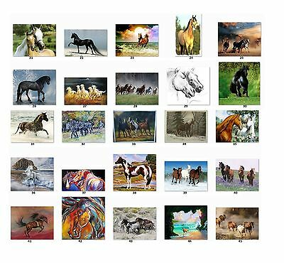30 Personalized Return Address Labels Horses. Buy 3 get 1 free {Hx2}
