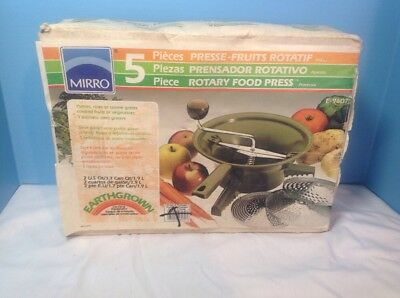 Vintage Mirro Canning Equipment New Old Stock Unopened Earthgrown