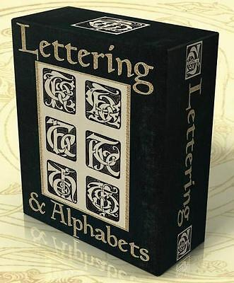LETTERING, ALPHABETS, MONOGRAMS 76 Vintage books on DVD! Penmanship Signwriting