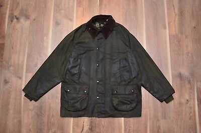 Barbour Men's A100 Bedale Waxed Coat Jacket C44/112CM Fishing Hunting Vintage